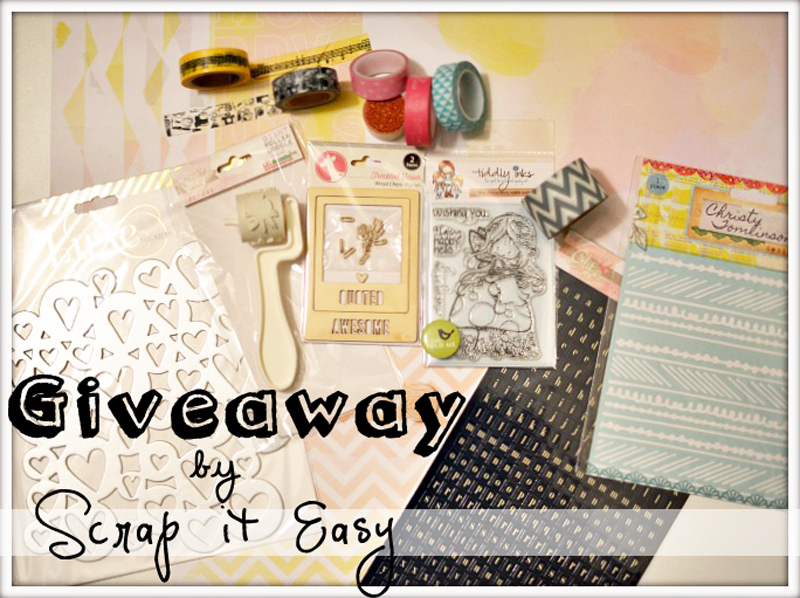giveaway by scrapiteasy