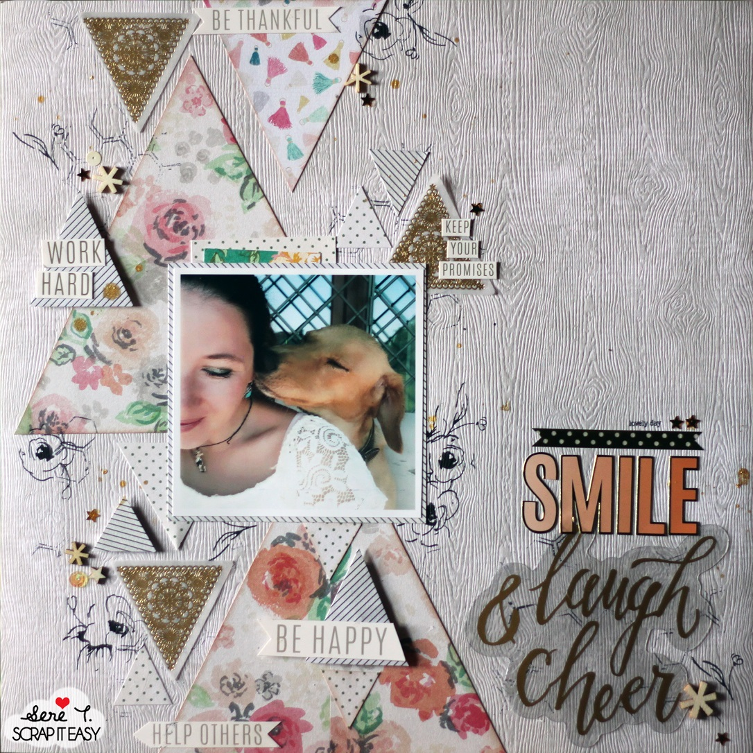 video tutorial sketch layout novit e idee sullo scrapbooking e sulla