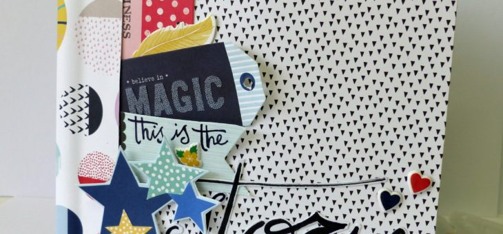 mini-album kit Scrap it easy di febbraio