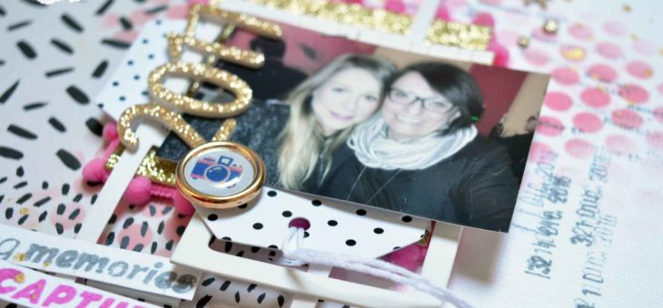 Video tutorial: layout con foto di capodanno